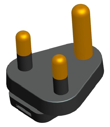 GlobTek offers the following plugs to meet the requirements in South Africa:  PN: Q-SANS64-1-16A(R) Color: Black, SABS164-1 3 round prongs PN: Q-SANS164-4L-16A(R) – Color: Blue, SABS164-4, +53º PN:...