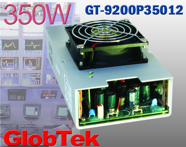 GlobTek 350-W Supply Serves Demanding Applications