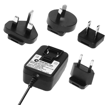 Medical Home Healthcare Products (60601-1-11) AC Adapter/Power Supply Certified to ANSI/AAMI ES60601-1 for the United States and Canada and EN/IEC 60601-1, 3rd edition for Europe, Asia, and Africa including IEC60601-1-11 and Risk Managament Analysis (RMA) and is rated up to 18W output with 5-30V output options., Model Series GTM41061